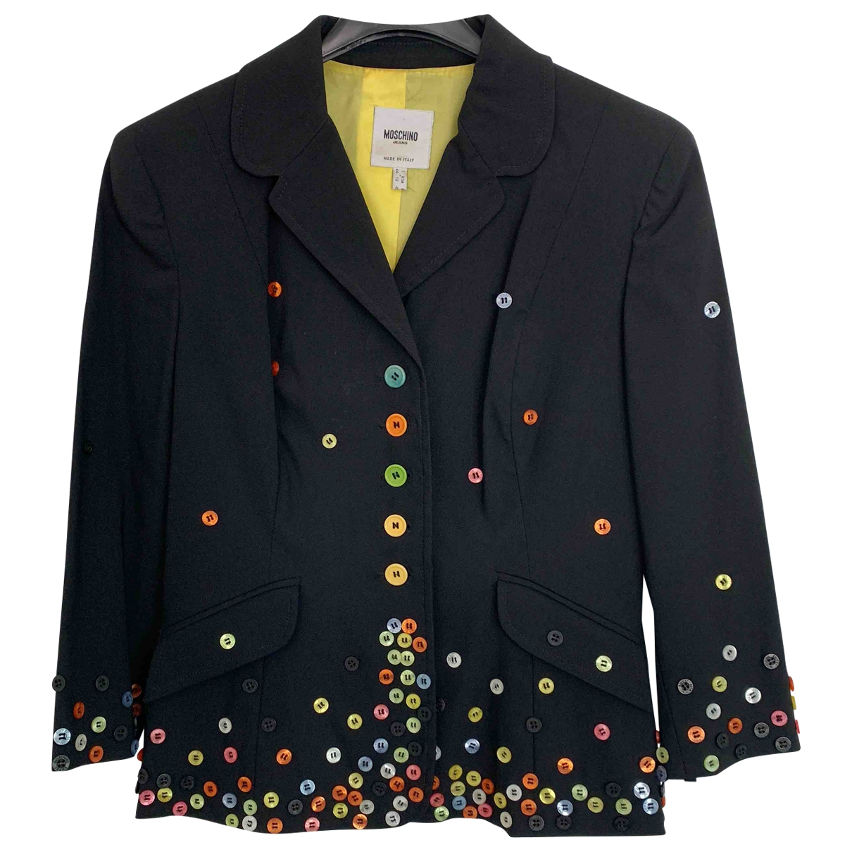 Moschino Cheap And Chic \N Black jacket for Women 44 IT