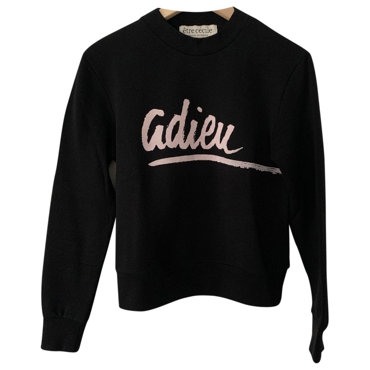 Etre Cecile \N Black Cotton  top for Women 34 FR