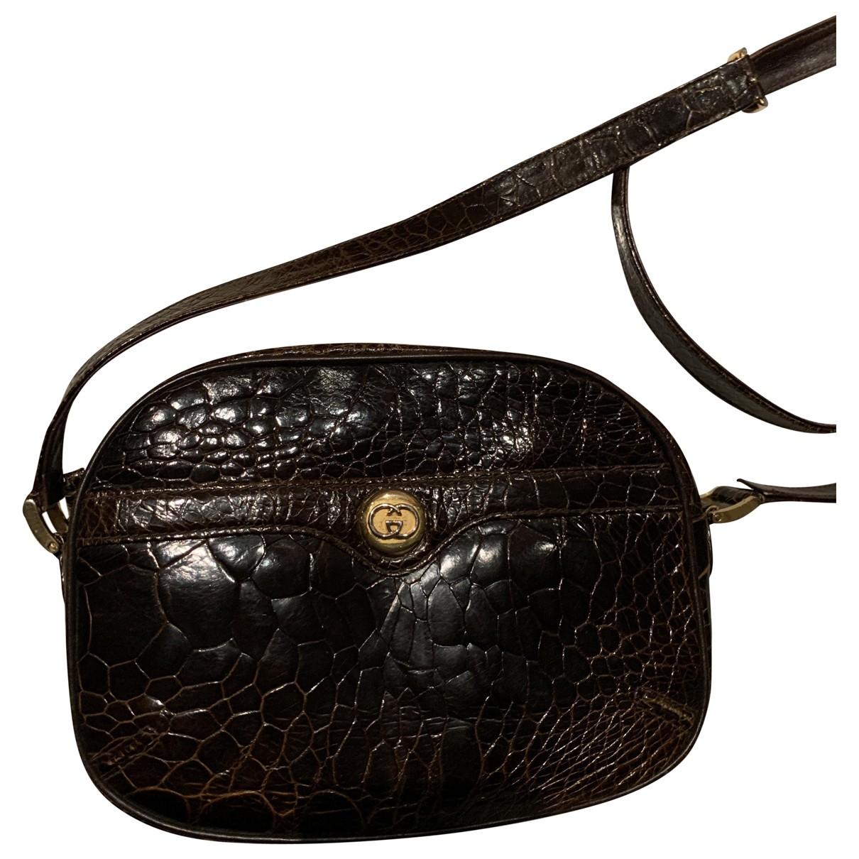 Gucci \N Crocodile handbag for Women \N