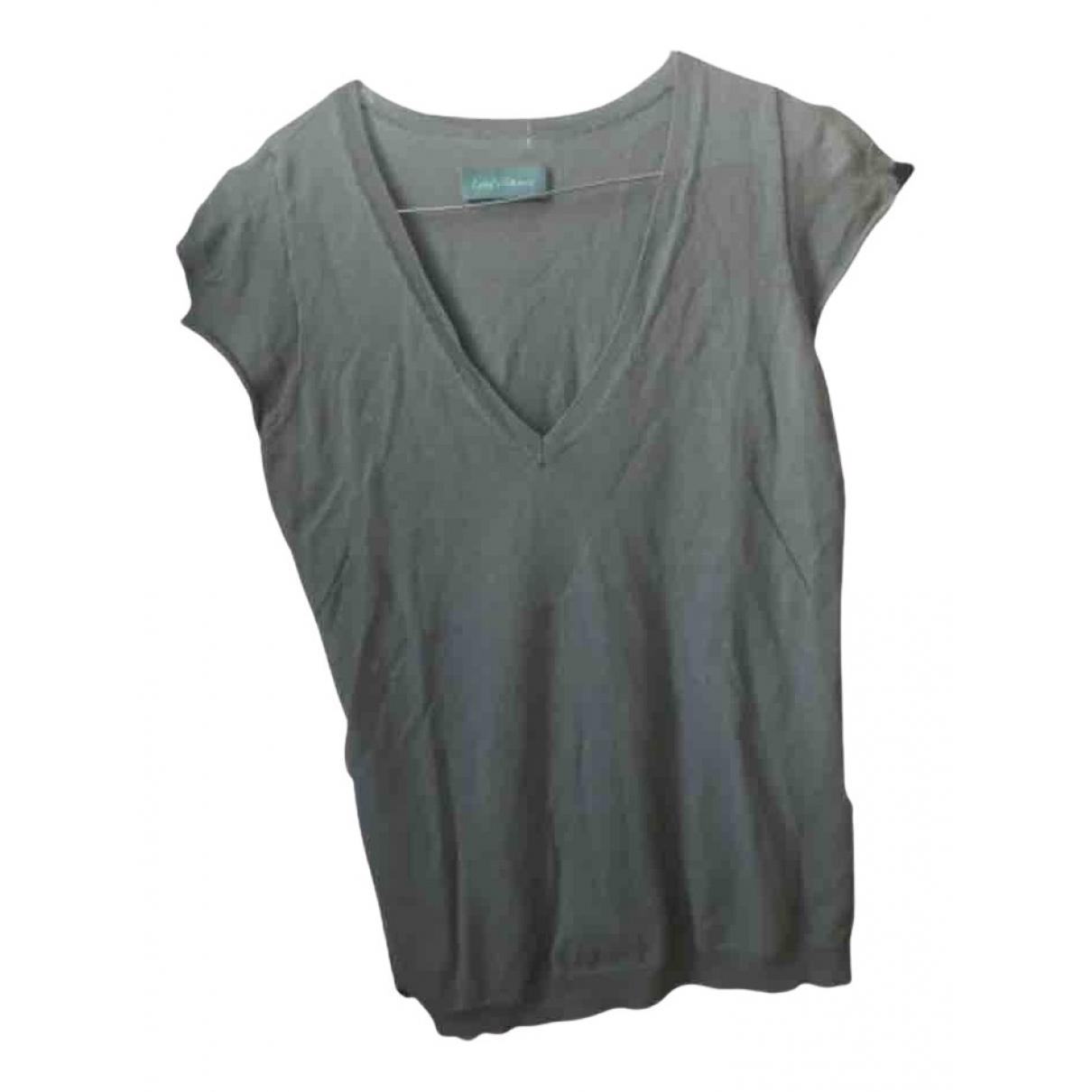 Zadig & Voltaire - Pull   pour femme en coton - vert