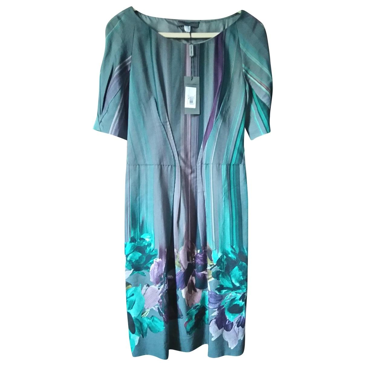 Alberta Ferretti - Robe   pour femme en coton - multicolore