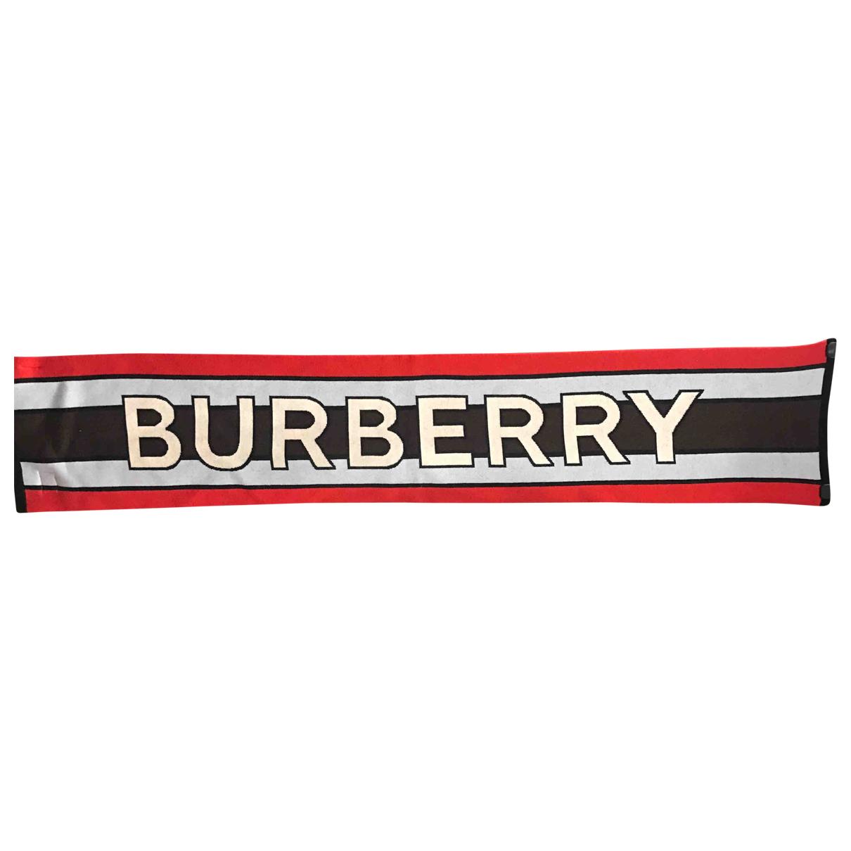 Burberry \N Halstuecher, Schal in  Bunt Wolle