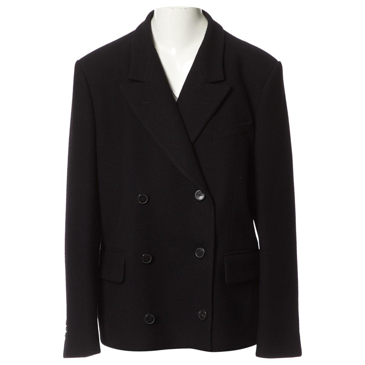 Dries Van Noten \N Black Wool jacket  for Men 54 FR