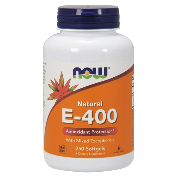 E-400 MT 250 Sgels by Now Foods