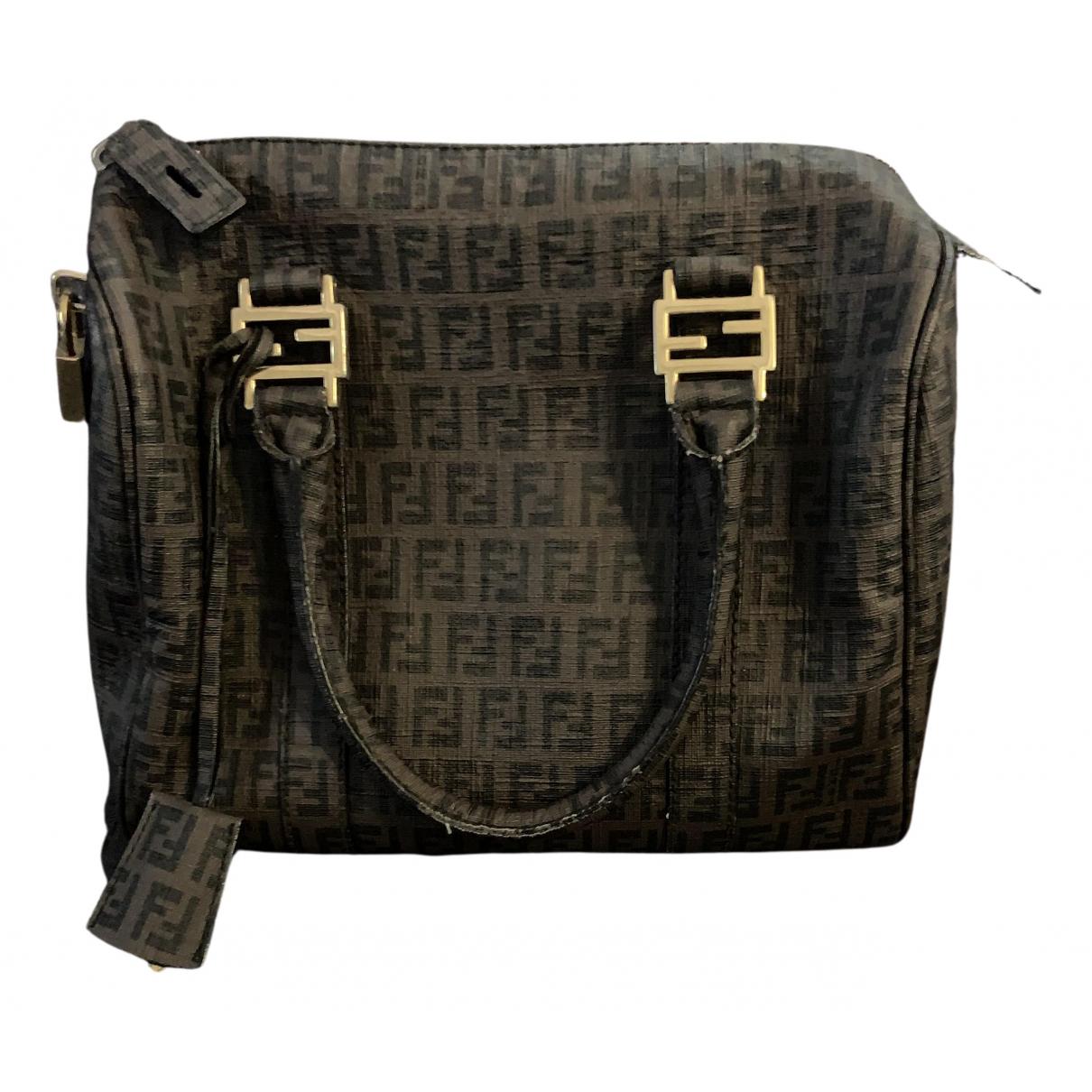 Fendi \N Handtasche in  Bunt Leinen