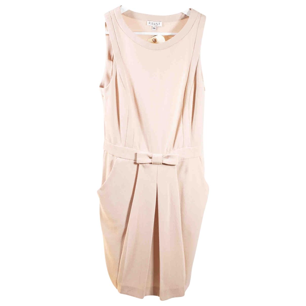 Claudie Pierlot \N Beige dress for Women 34 FR