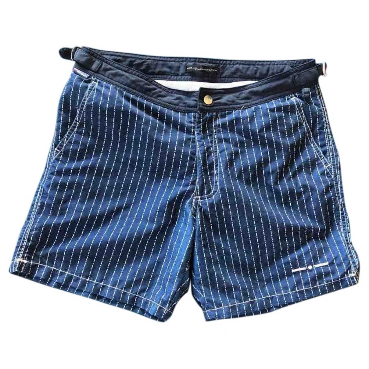 Mc2 Saint Barth \N Blue Cotton - elasthane Swimwear for Men S International