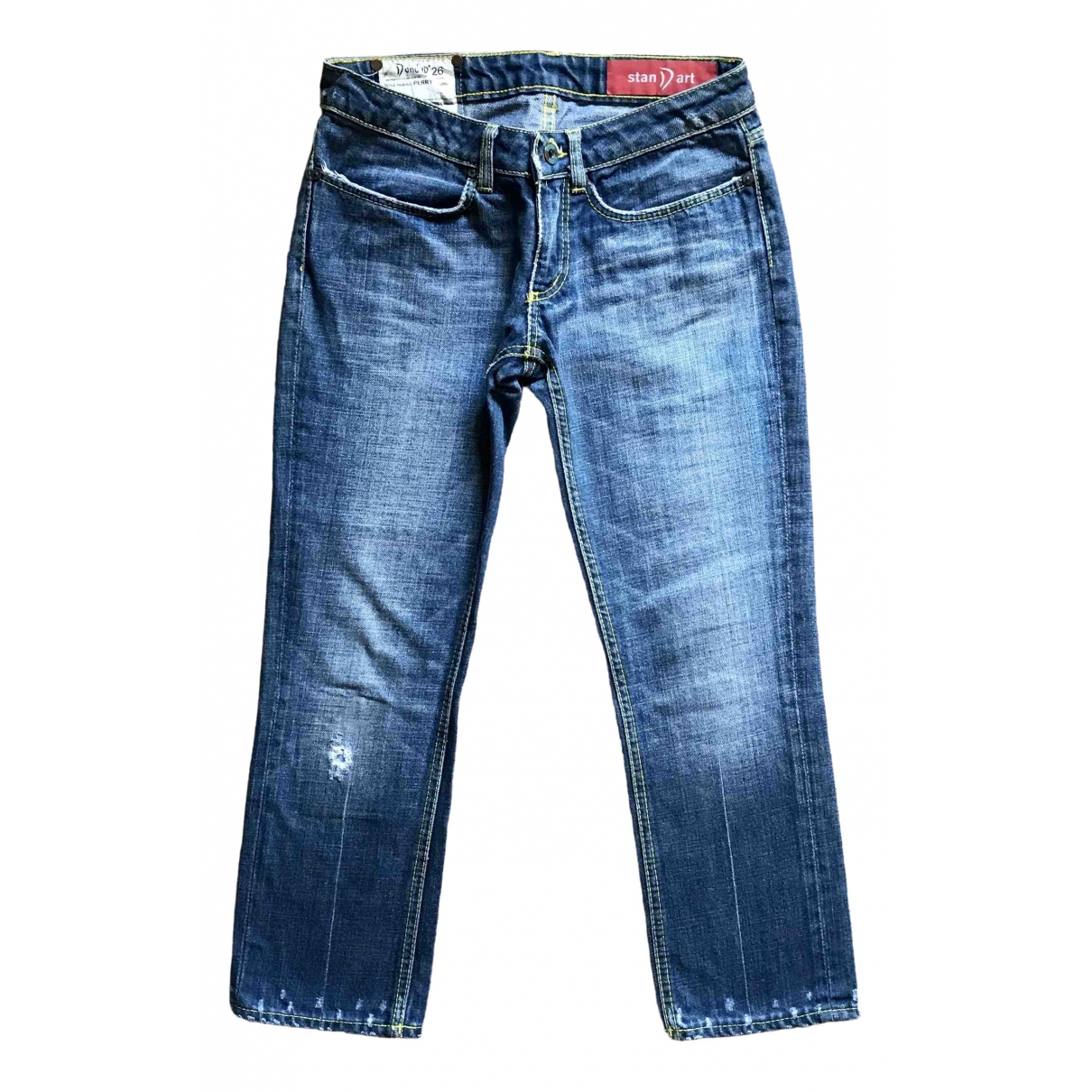 Dondup \N Blue Cotton Jeans for Women 26 US