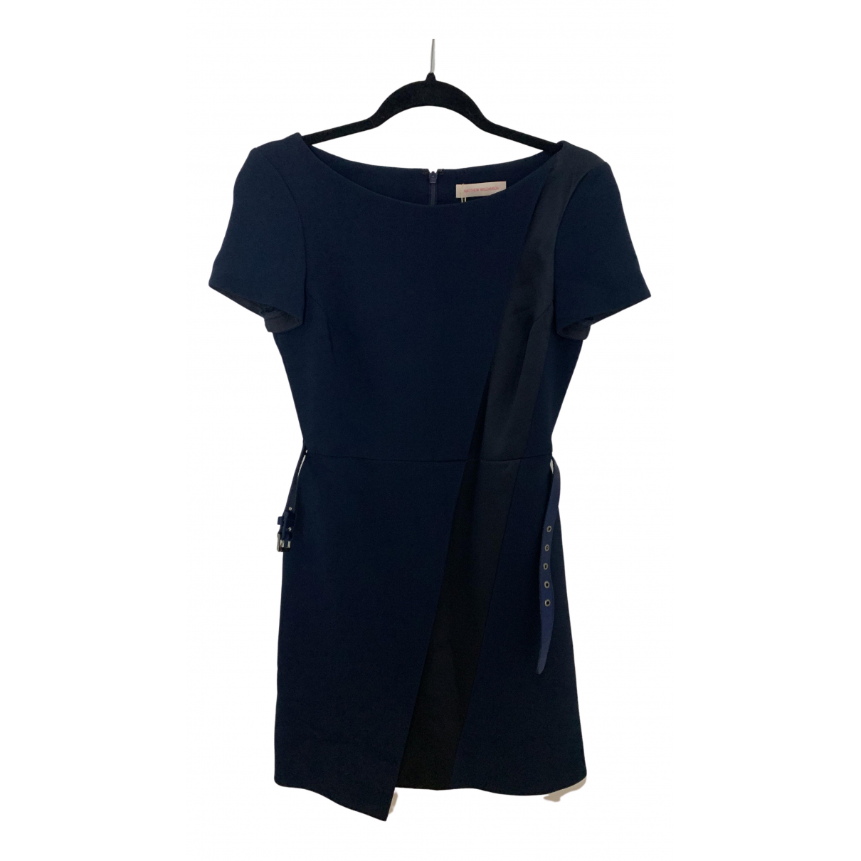 Matthew Williamson \N Kleid in  Marine Polyester