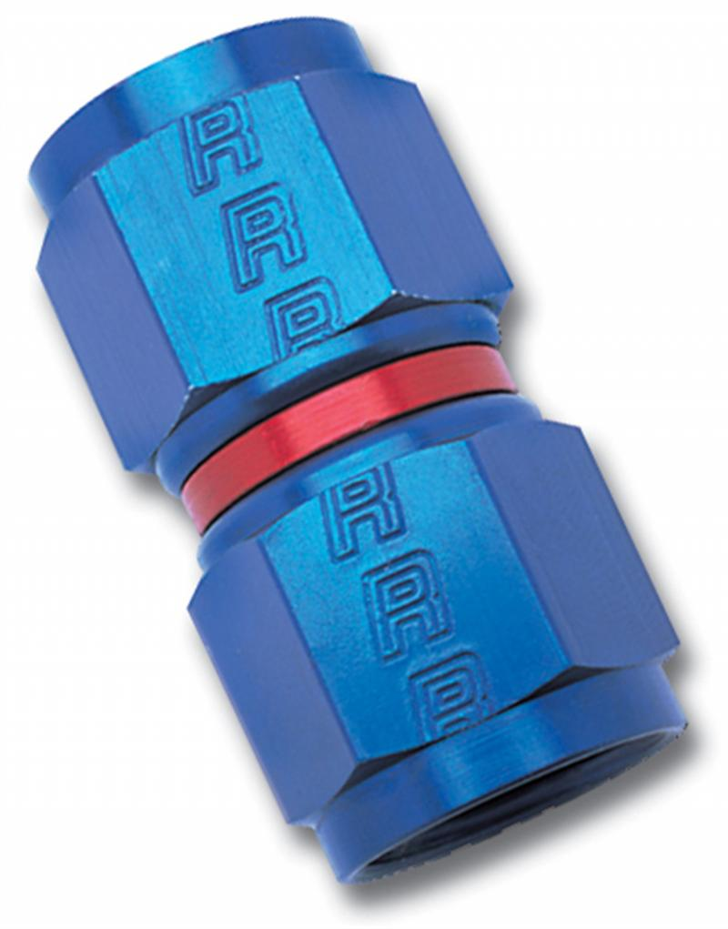Russell ANODIZED-4 STRAIGHT FEMALE SWIVEL COUPLER