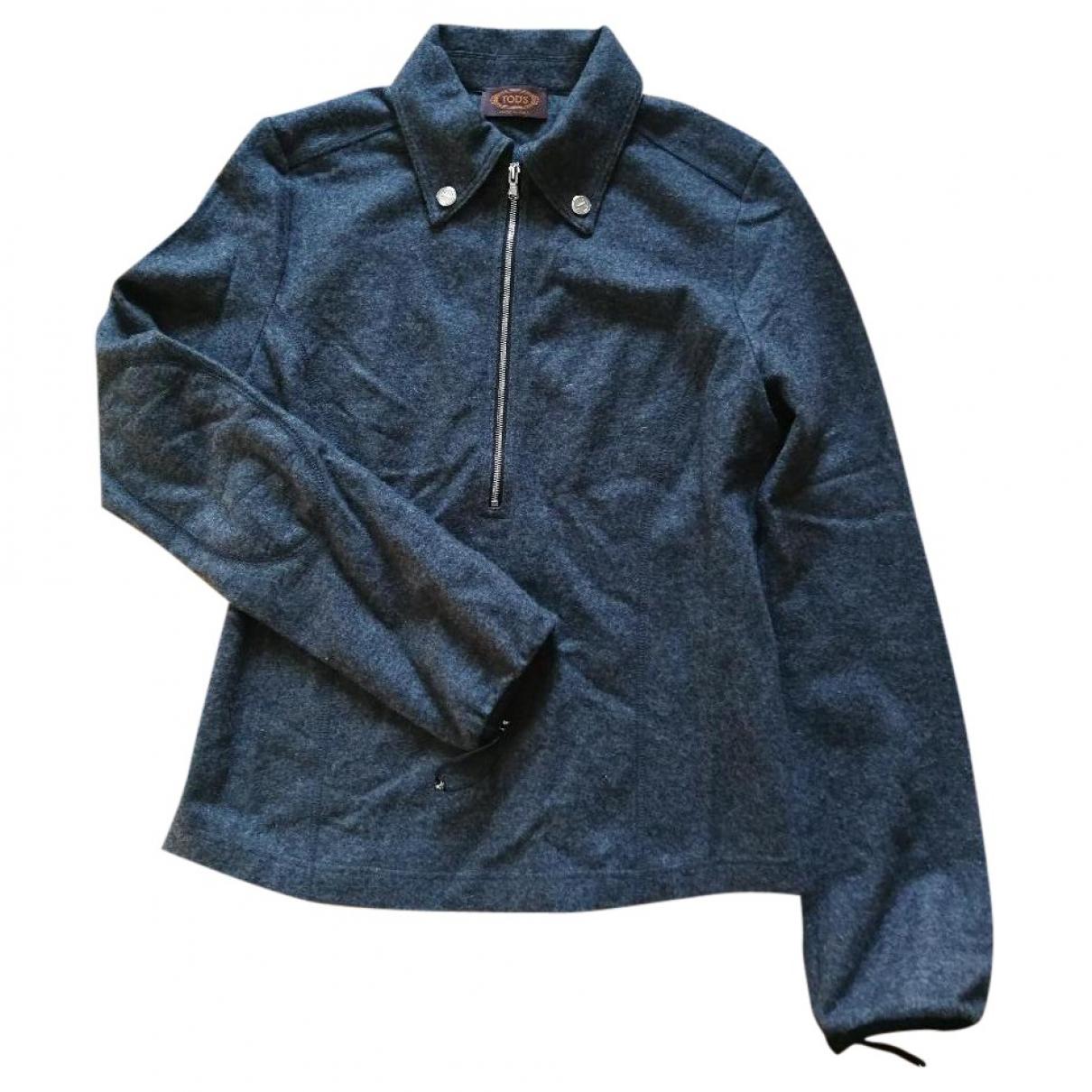 Tod's \N Grey Cashmere Knitwear for Women 36 IT