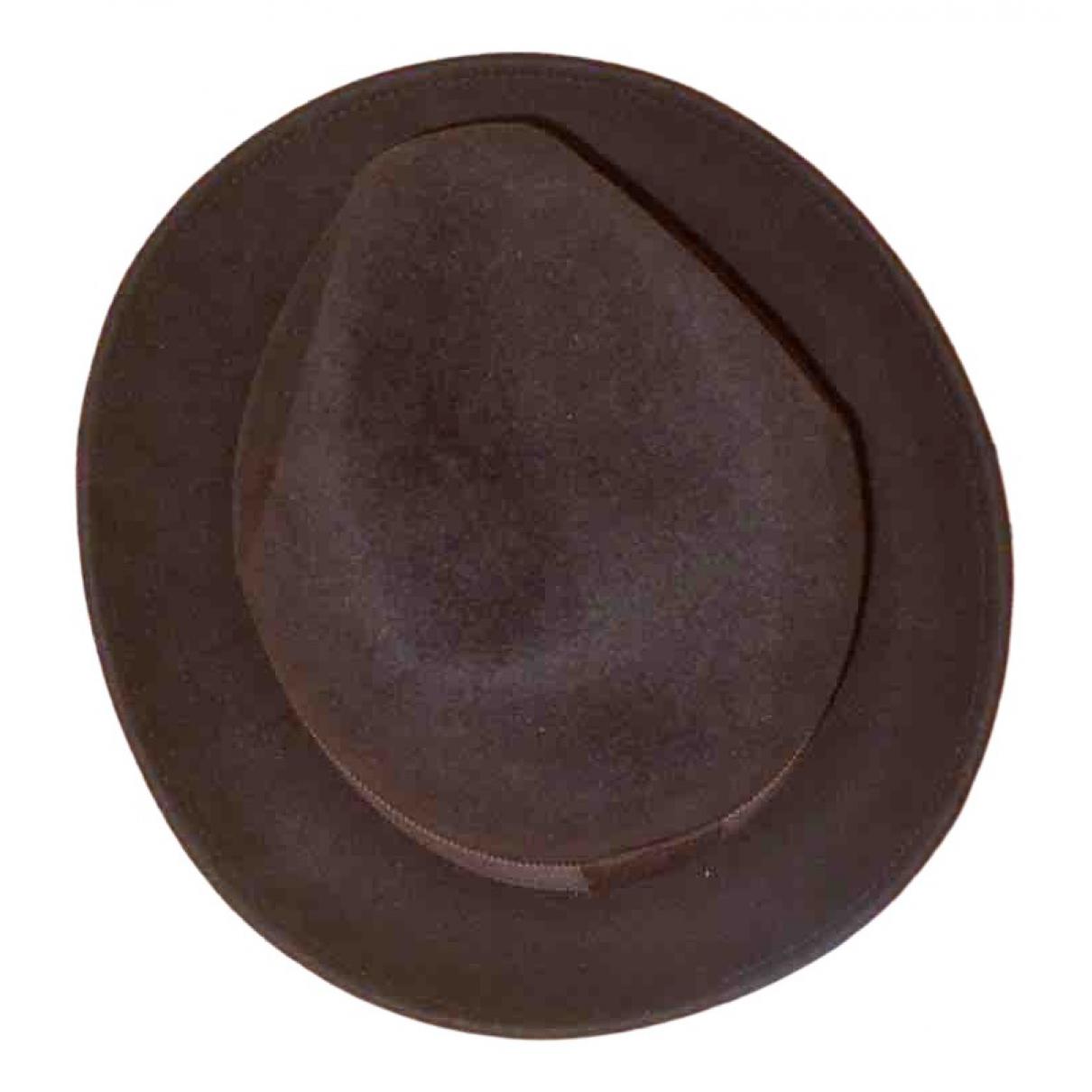Maison Michel \N Brown Wool hat for Women S International