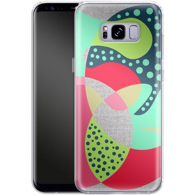 Samsung Galaxy S8 Plus Silikon Handyhuelle - Naive III von Susana Paz
