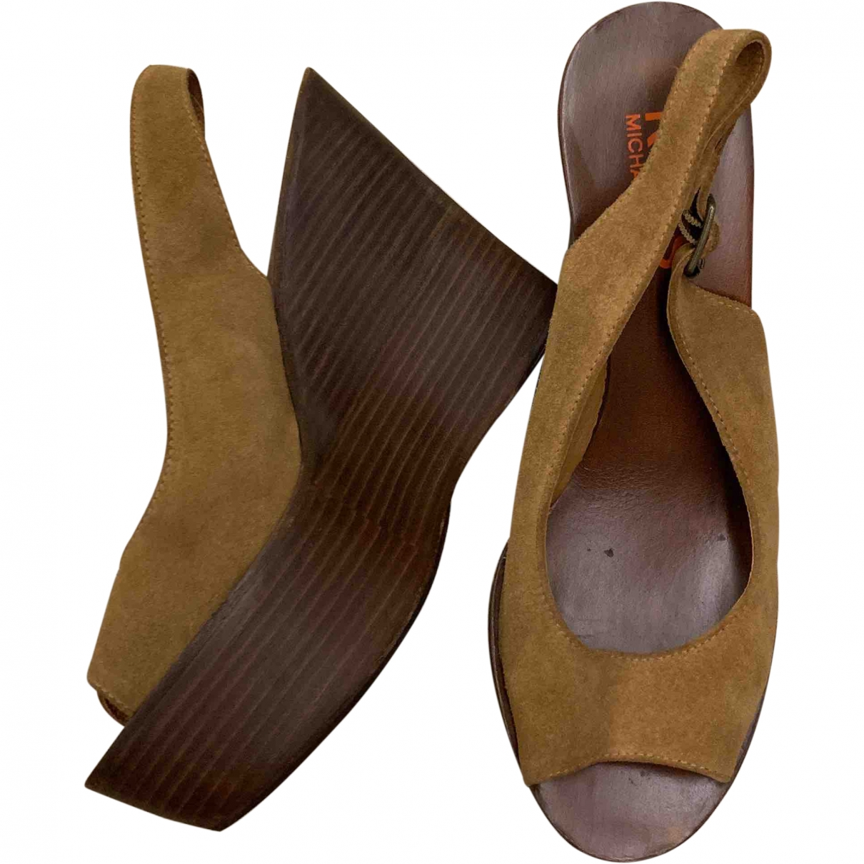 Michael Kors \N Brown Suede Sandals for Women 38.5 EU