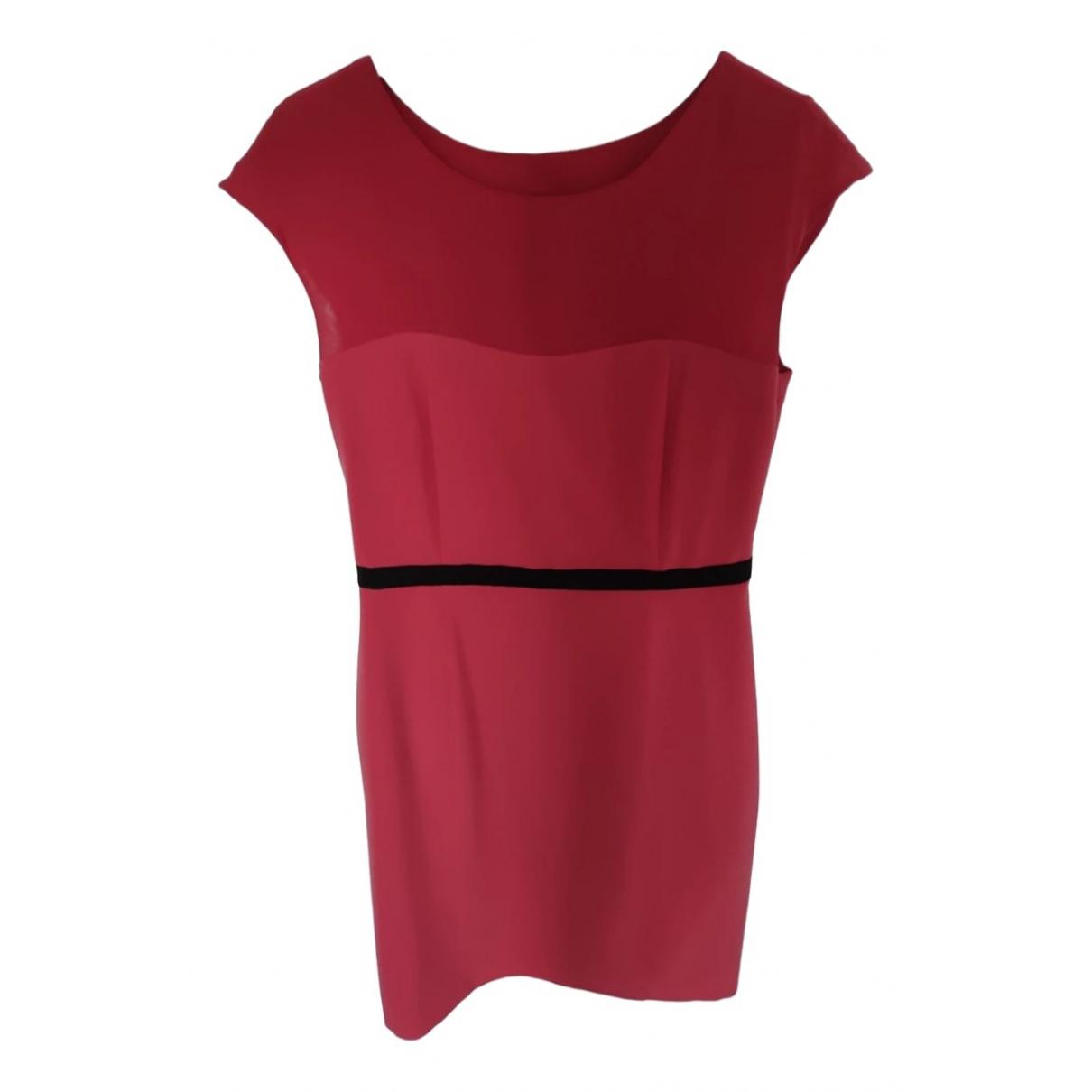 Max & Co - Robe   pour femme en soie - rose
