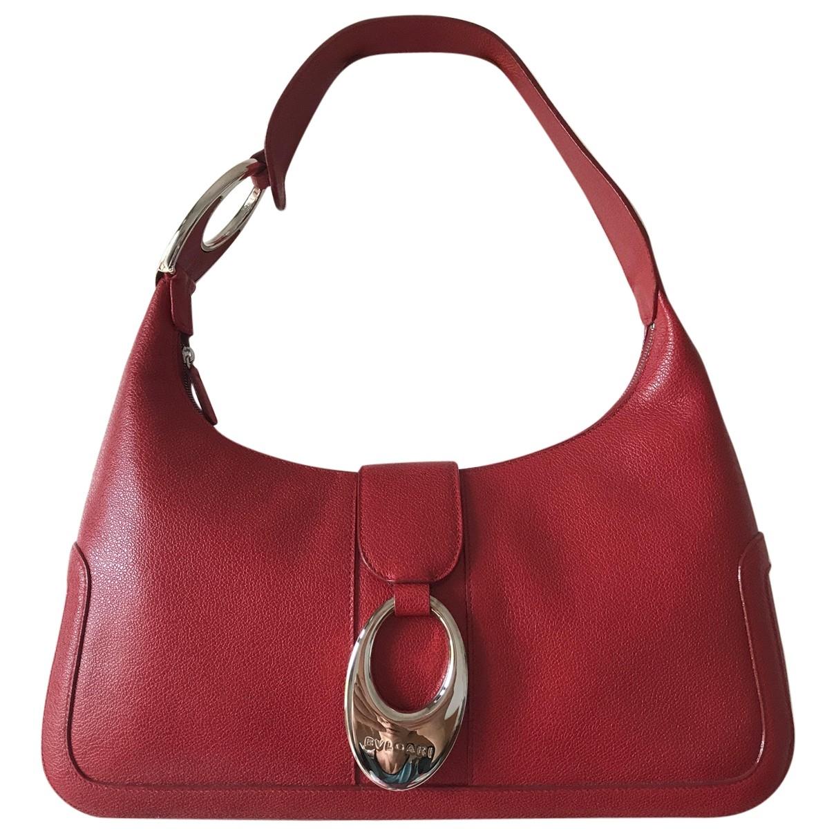 Bvlgari \N Red Leather handbag for Women \N