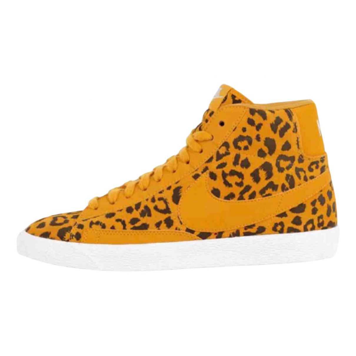 Nike Blazer Multicolour Leather Trainers for Women 38 EU