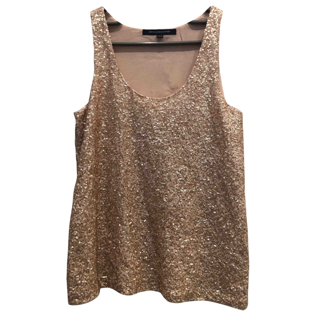 French Connection \N Gold  top for Women 8 UK