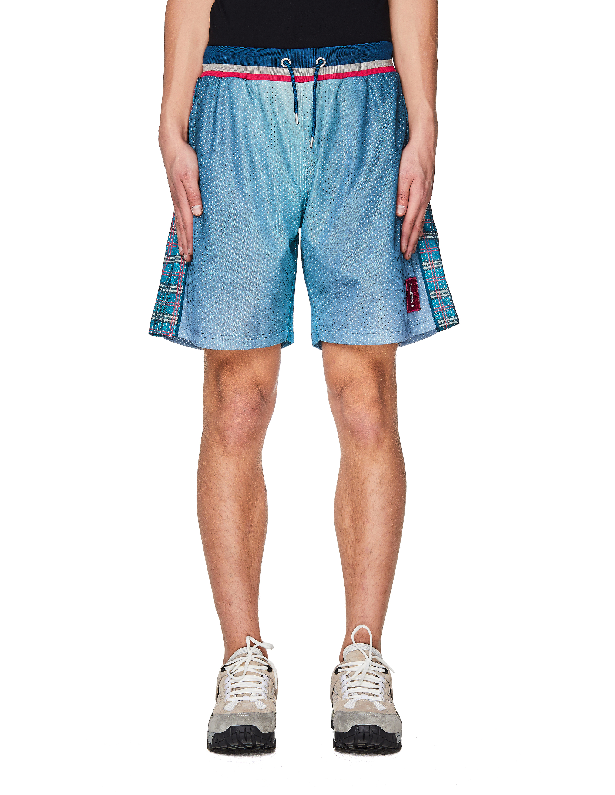 Pigalle Blue Mesh Basketball Shorts