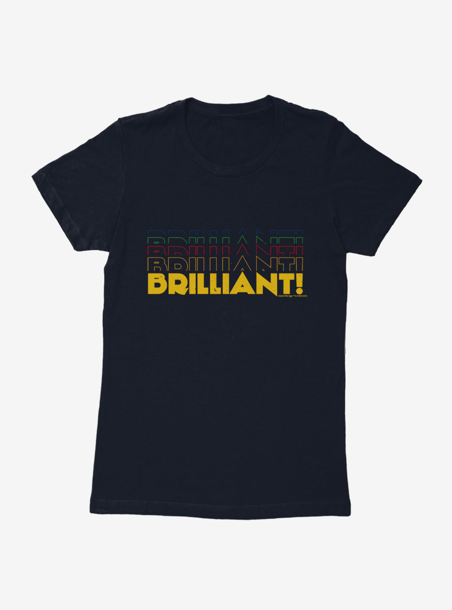 Doctor Who Thirteenth Doctor Brilliant Stack Womens T-Shirt