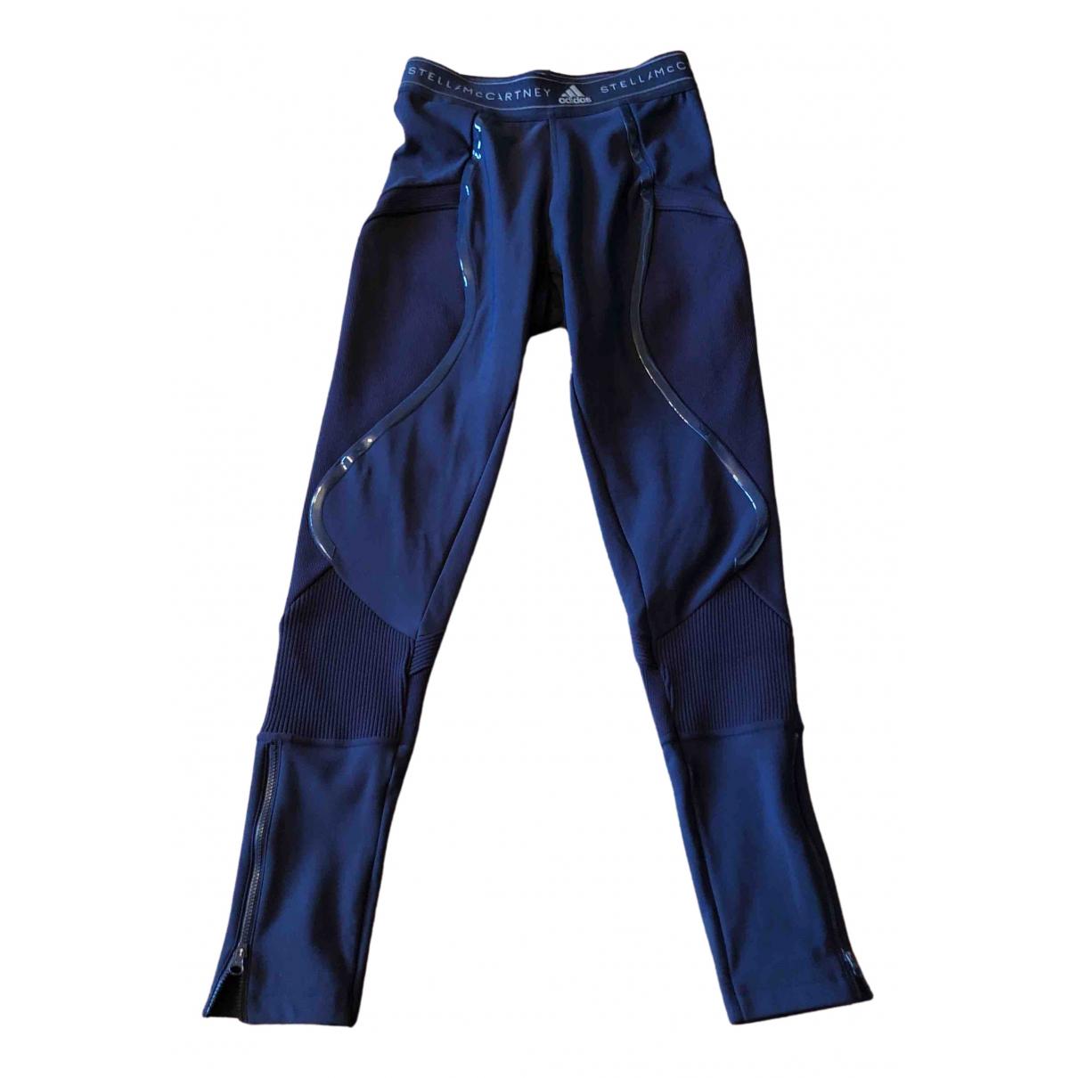 Stella Mccartney Pour Adidas \N Hose in  Blau Polyester