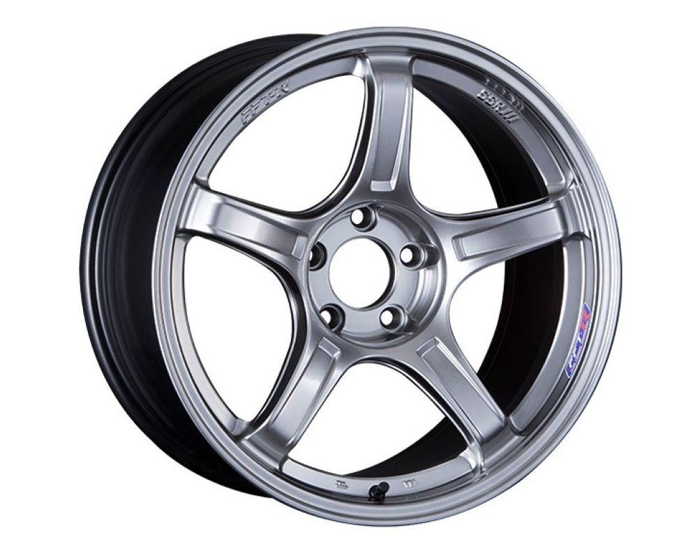 SSR GTX03 Wheel 17x7 4x100 48mm Platinum Silver