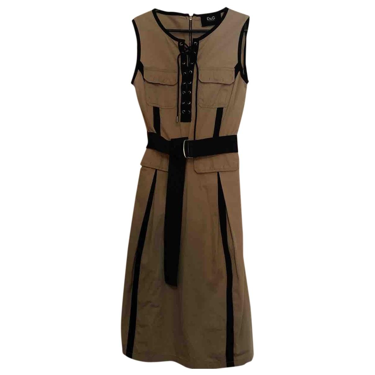 D&g \N Kleid in Baumwolle