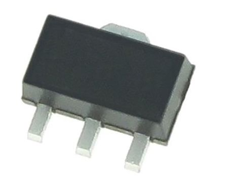 Microchip P-Channel MOSFET, 160 mA, 500 V, 3-Pin SOT-89  VP2450N8-G (2000)