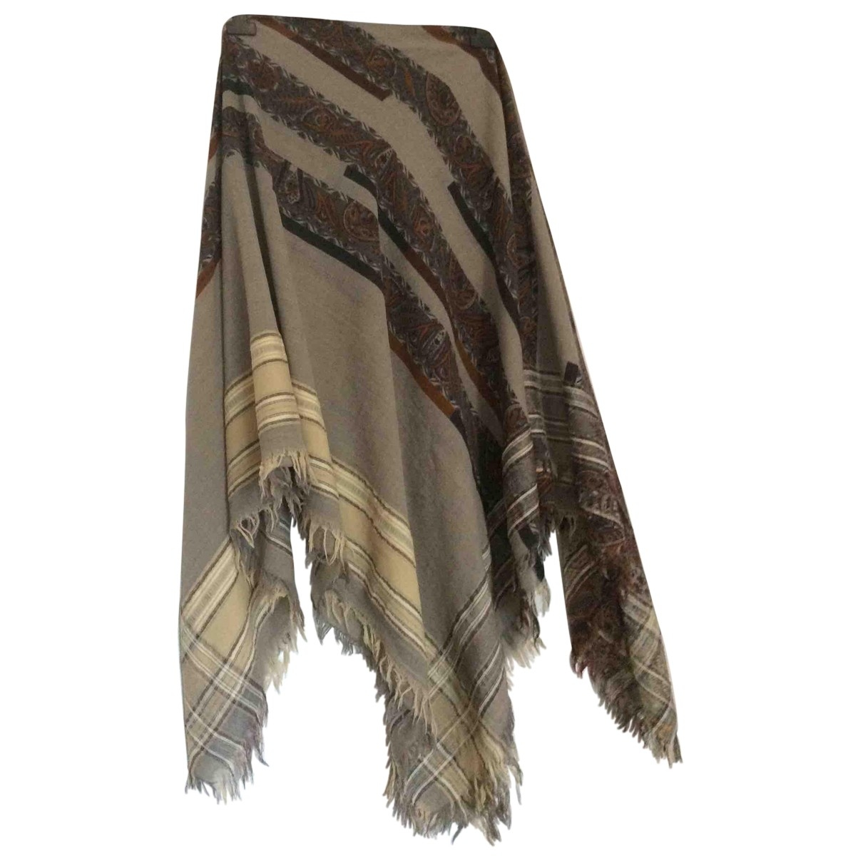 Etro \N Multicolour Wool scarf for Women \N