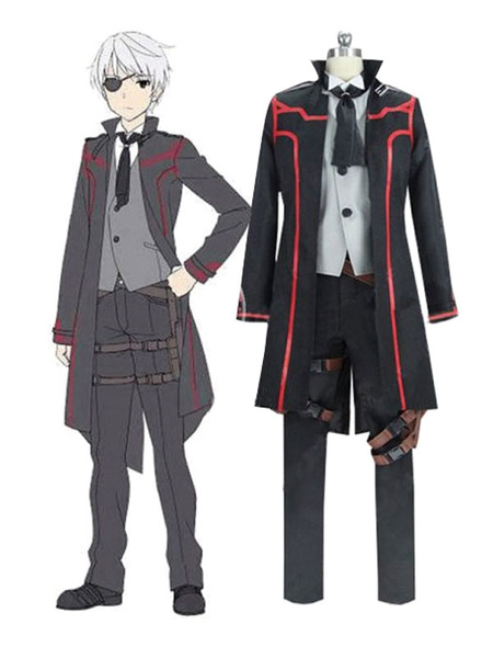 Milanoo From Commonplace To World\\'s Strongest Cosplay Nagumo Hajime Polyester Suit Cosplay Costume