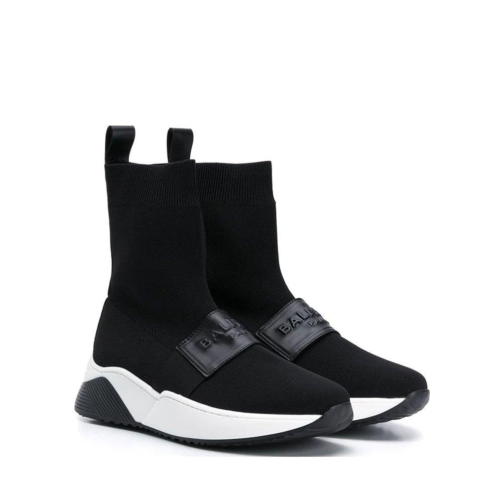 Balmain Sock Sneakers Colour: BLACK, Size: 38