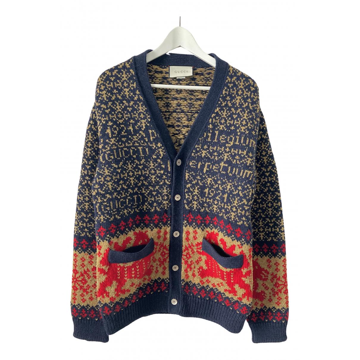 Gucci N Multicolour Wool Knitwear & Sweatshirts for Men S International