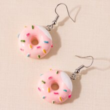 Donuts Decor Drop Earrings
