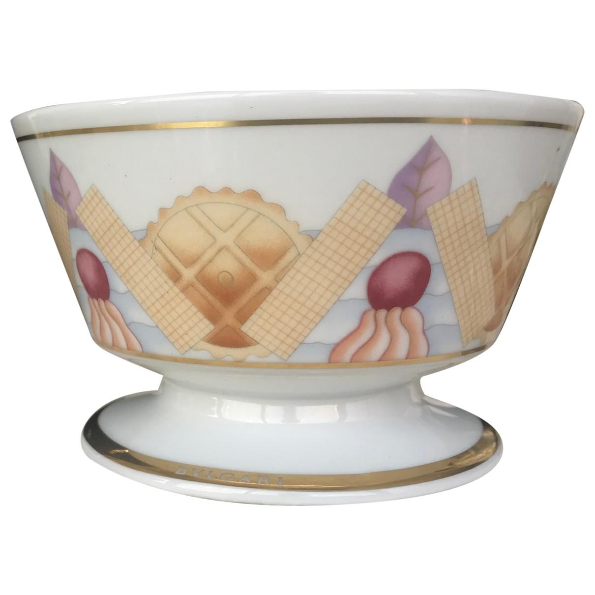 Taza de Porcelana Bvlgari