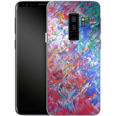 Samsung Galaxy S9 Plus Silikon Handyhuelle - Macro 6 von Gela Behrmann