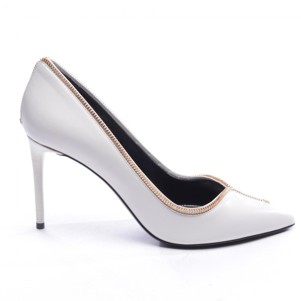 Tom Ford - Escarpins   pour femme en cuir - blanc