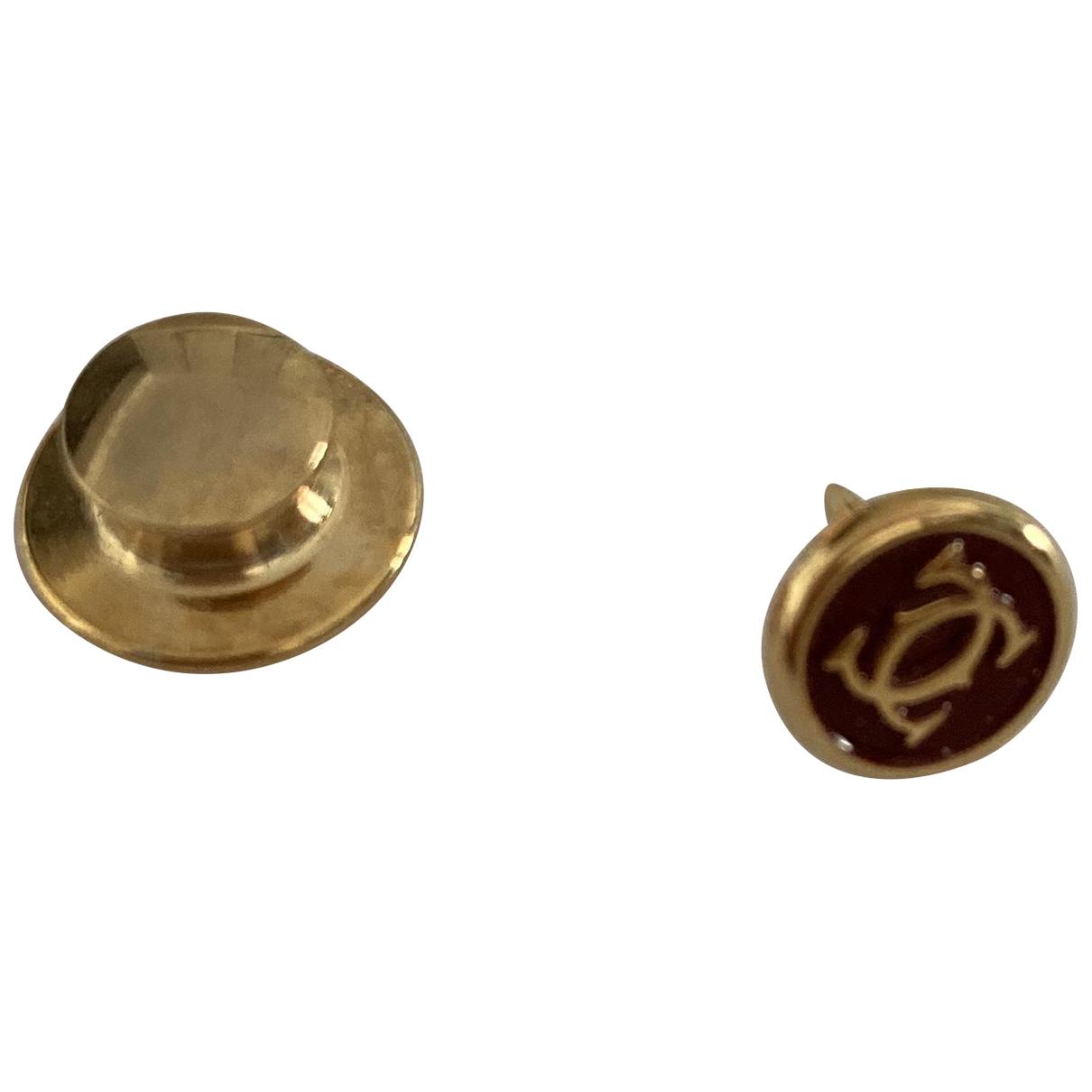 Cartier - Bijoux   pour homme en plaque or