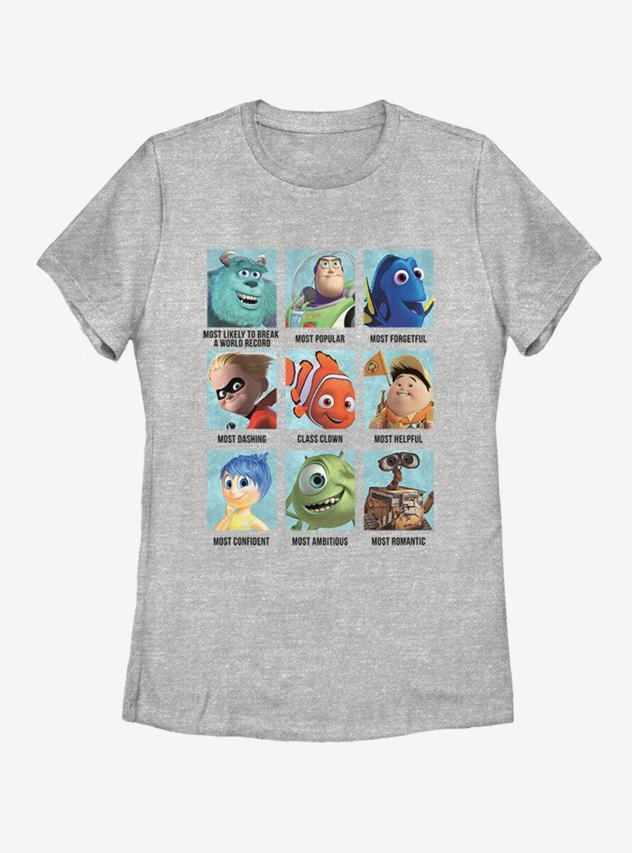 Disney Pixar High Womens T-Shirt