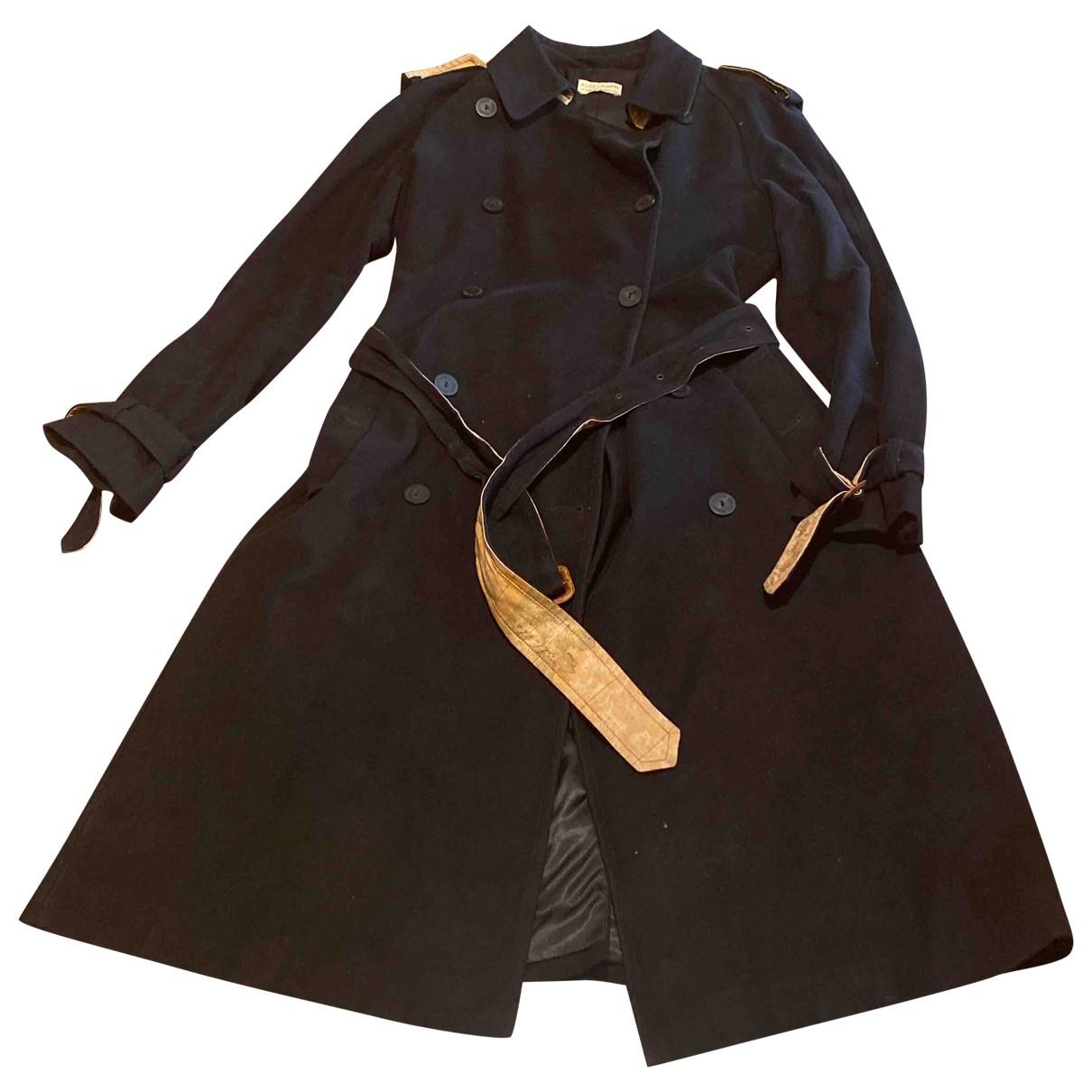 - Trench   pour femme en coton - noir