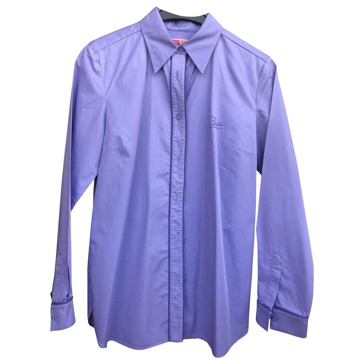 Emilio Pucci \N Purple Cotton  top for Women 38 FR