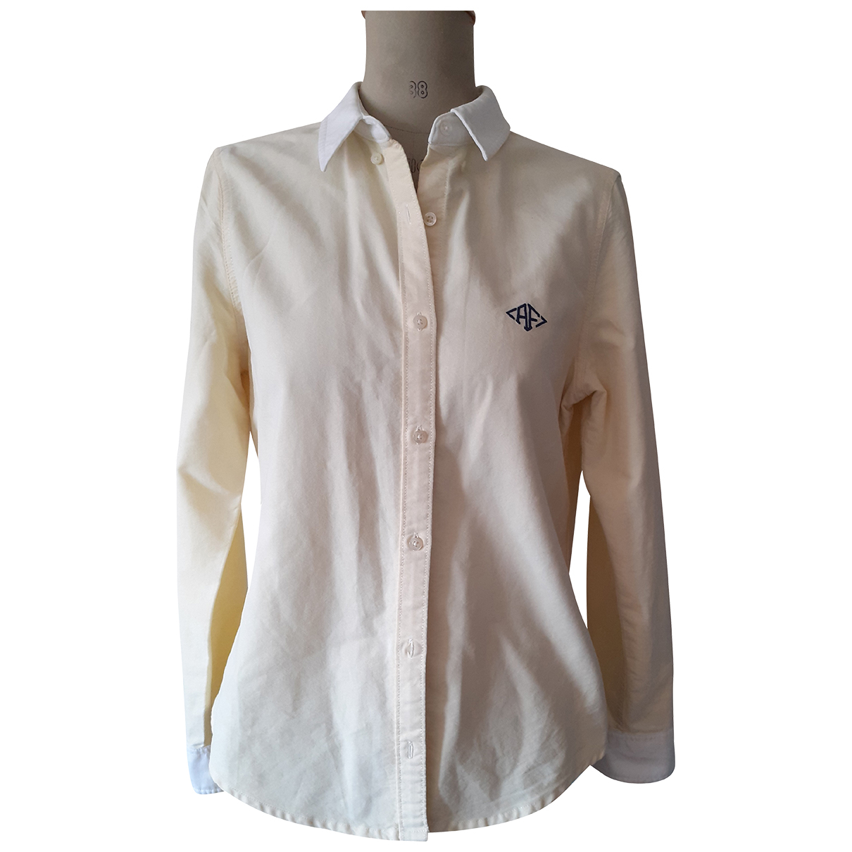Abercrombie & Fitch N Yellow Cotton Shirts for Men L International