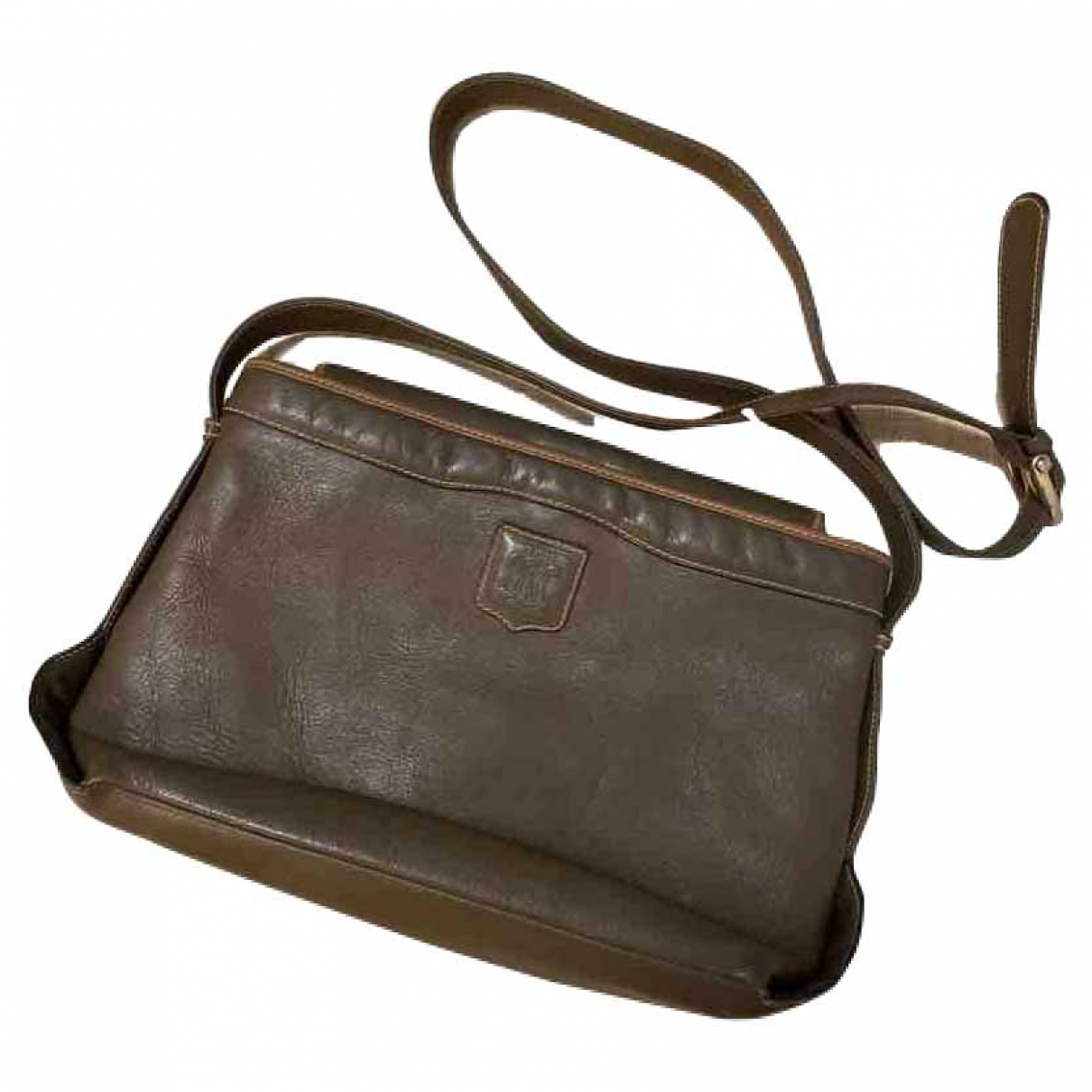 Celine \N Handtasche in  Gruen Leder