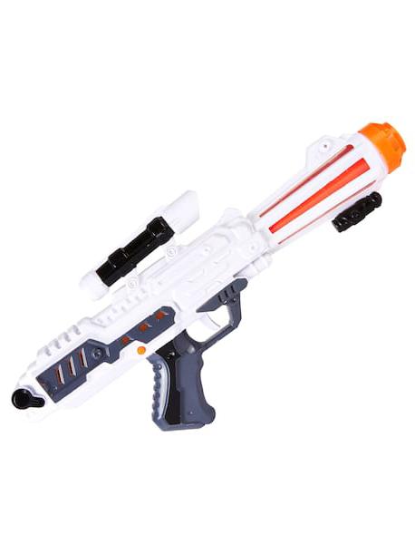 Kostuemzubehor Pistole lang Space Gun Farbe: weiss