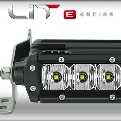 Superchips LIT E-Series 30 Double Row LED Combo Light Bar with Power Switch - 72031