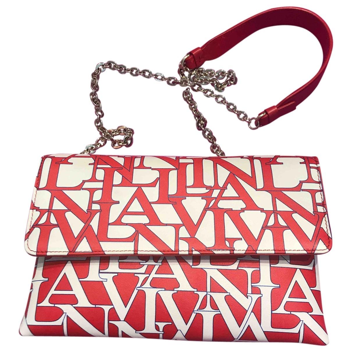 Lanvin \N Leather handbag for Women \N