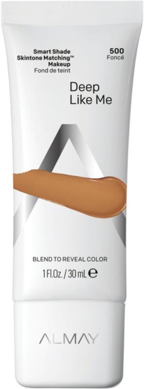 Smart Shade Skintone Matching Makeup - Deep Like Me 500