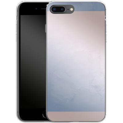 Apple iPhone 7 Plus Silikon Handyhuelle - Serenity Rose Quartz Geometry von Emanuela Carratoni