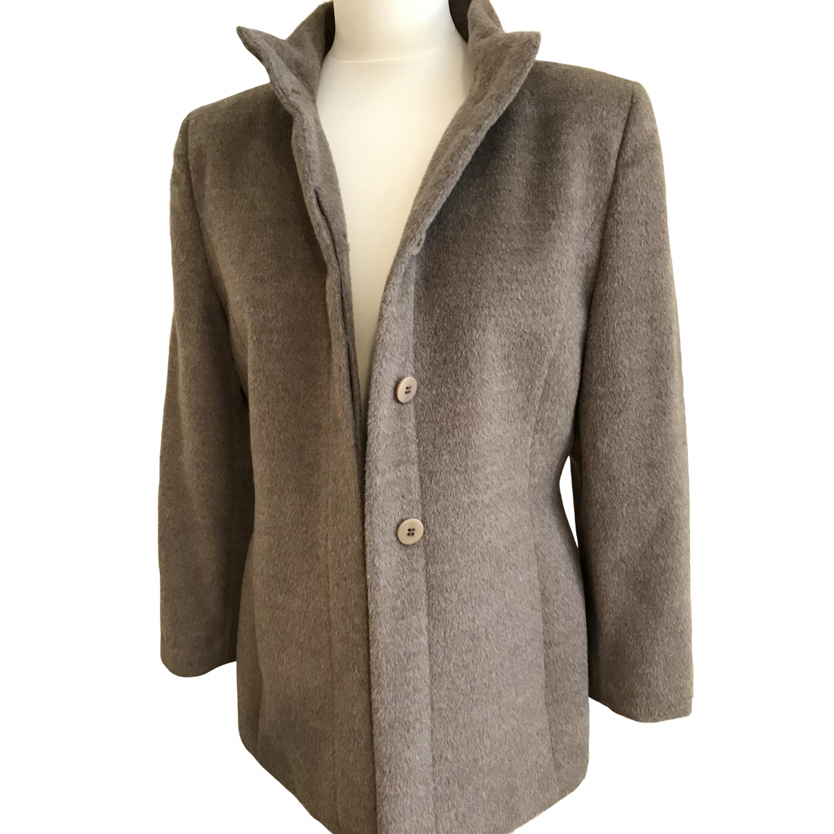 Adolfo Dominguez \N Camel Wool jacket for Women 44 FR