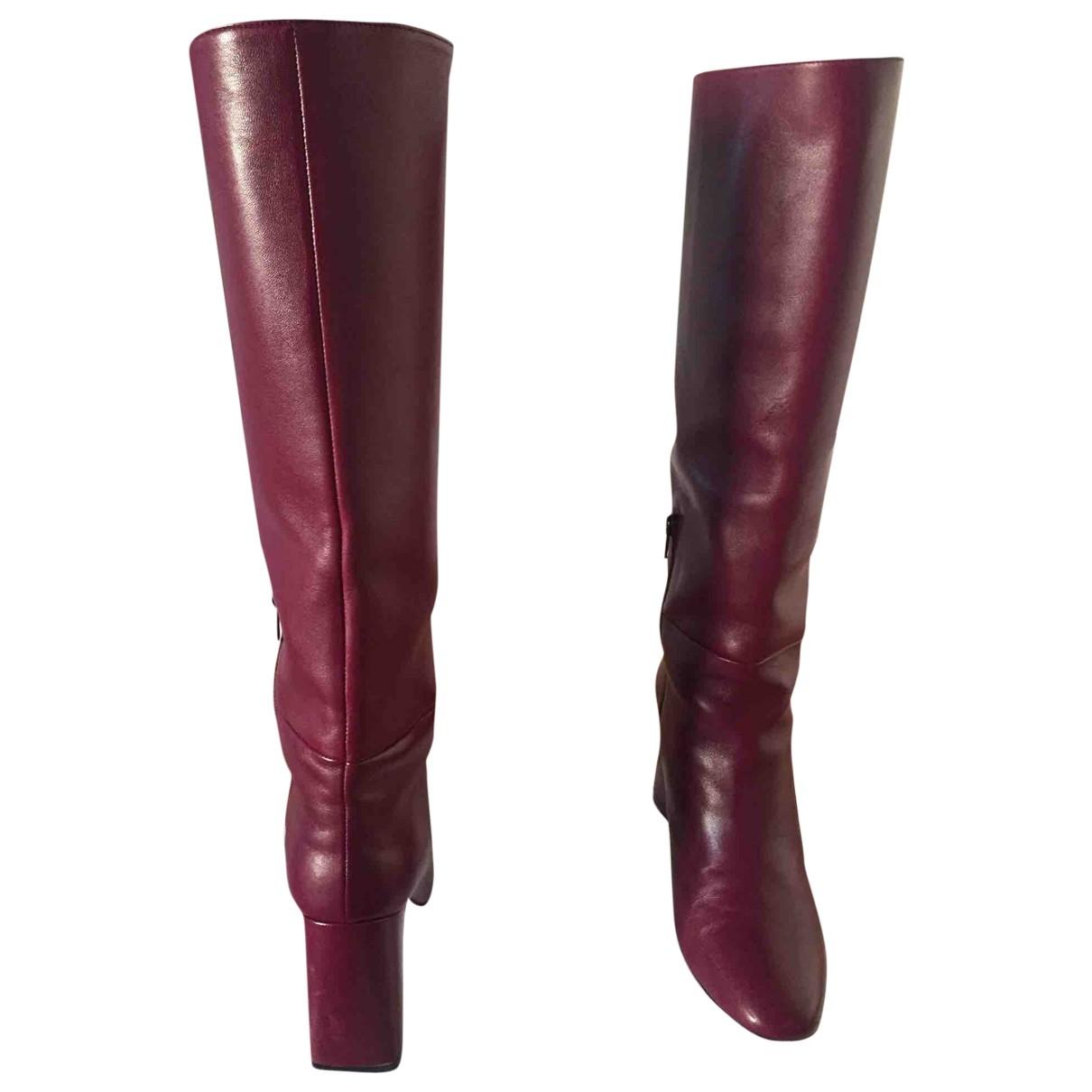Stuart Weitzman \N Leather Boots for Women 40 EU