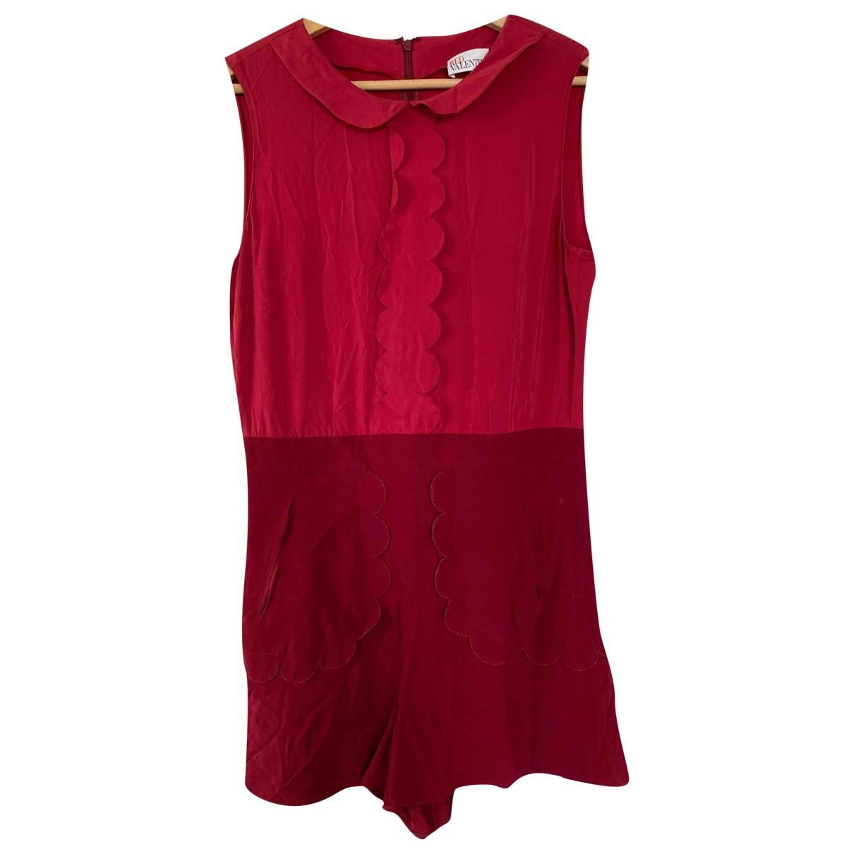 Red Valentino Garavani \N Red jumpsuit for Women 42 IT